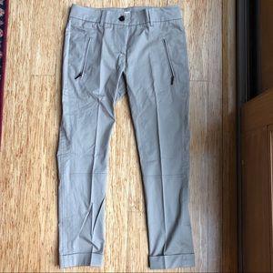 NWT Brunello Cucinelli Cotton Zip Pants